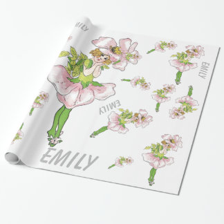 Pink Briar Rose Flower Floral Funny Cute Girl