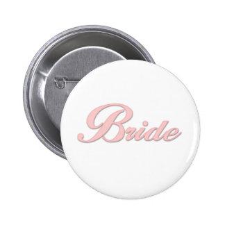 Pink Bride Pin