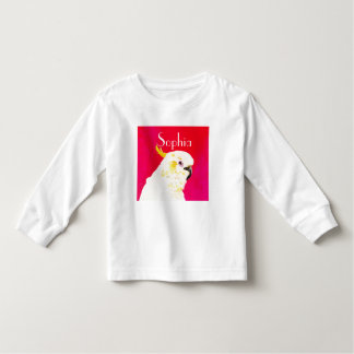Pink Bright Cockatoo Toddler T-shirt