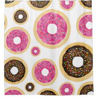 Pink & Brown Sprinkle Donuts Modern Fun Cute