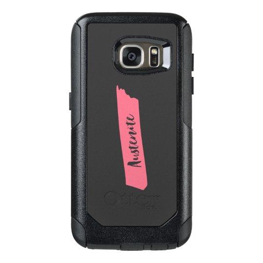 Pink Brush Austenite OtterBox Samsung Galaxy S7 Case
