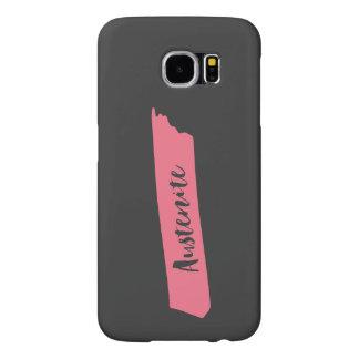 Pink Brush Austenite Samsung Galaxy S6 Cases