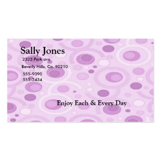 Pink Bubbles Business Cards