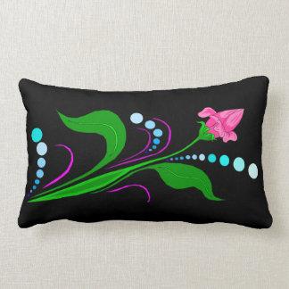 Pink Bud Lumbar Pillow