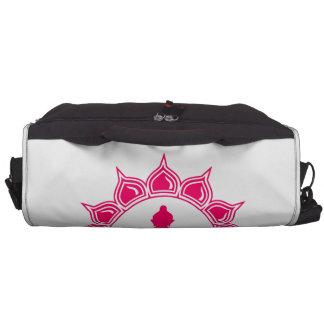 Pink Buddha messenger bag Laptop Shoulder Bag