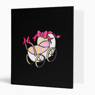 Pink Buggy 3 Ring Binders