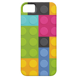 pink building blocks iPhone 5 cover