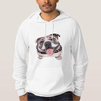 Pink Bulldog Hoodie