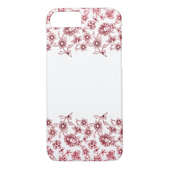 Pink Bunches of Flowers iPhone 8/7 Case