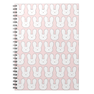 Pink Bunnies Notebook