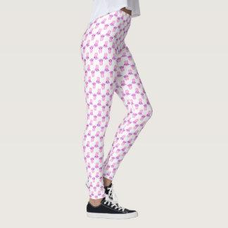 Pink Bunnies • Spring / Easter Print Leggings