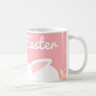 Pink Bunny Easter Mug