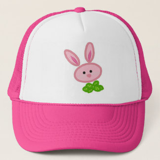 Pink Bunny Ladies Hat