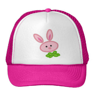 Pink Bunny Ladies Hat