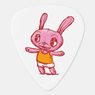 Pink Bunny Rabbit Guitar Pick