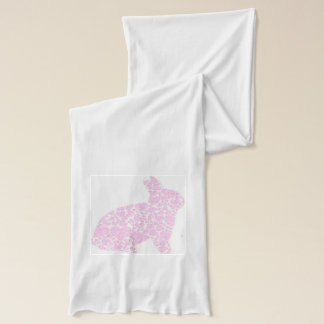 Pink Bunny Rabbit Scarf