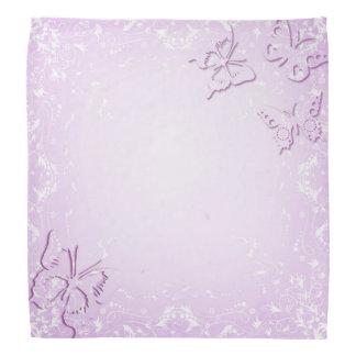Pink butterflies bandana