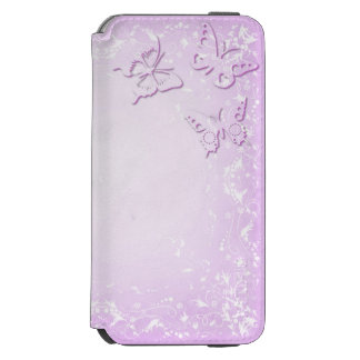 Pink butterflies incipio watson™ iPhone 6 wallet case