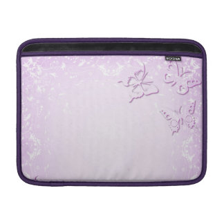 Pink butterflies sleeve for MacBook air