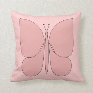 Pink Butterfly American MoJo Pillows