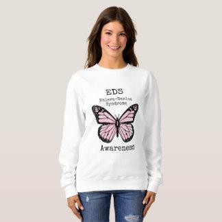Pink Butterfly EDS Awareness Shirt