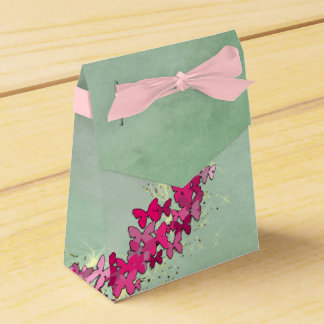 Pink Butterfly Princess Favor Box