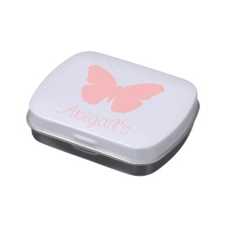 Pink Butterfly Silhouette Design (Personalised)