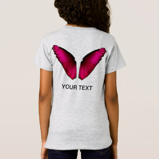 pink butterfly wings T-Shirt