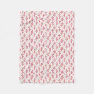 Pink Cactus Blanket