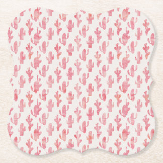 Pink Cactus Coaster