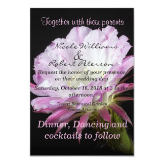 Pink Cactus flower in bloom Card