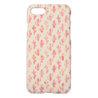 Pink Cactus Iphone 7 Matte Phone Case