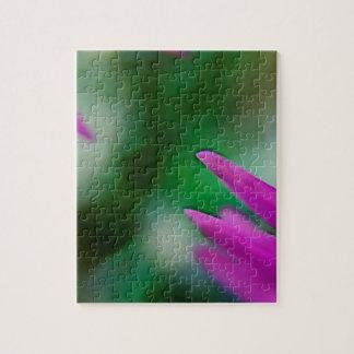 Pink Cactus Petals Jigsaw Puzzle