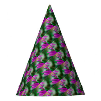 Pink Cactus Petals Party Hat