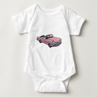Pink Cadillac Baby Bodysuit