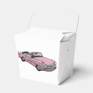 Pink Cadillac Favor Box