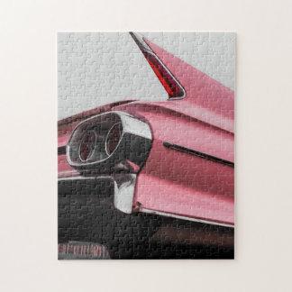 Pink Cadillac Jigsaw Puzzle