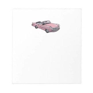 Pink Cadillac Notepad