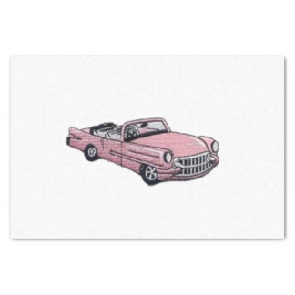 Pink Cadillac Tissue Paper
