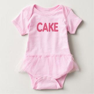 {Pink} Cake Baby Tutu Bodysuit