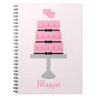 Pink Cake Notebook