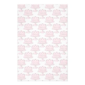 Pink Cake Pattern. Flyer