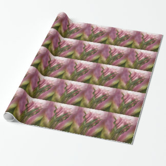 Pink Callas Art Gift Wrap