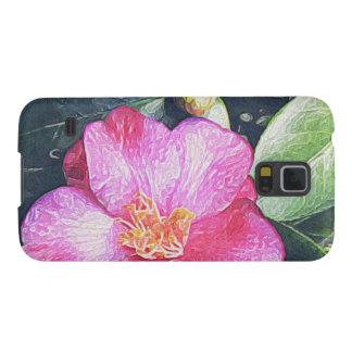 Pink Camellia Samsung Galaxy Case