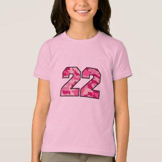 Pink Camo 22 T-Shirt