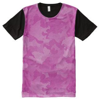 Pink Camo All-Over-Print T-Shirt