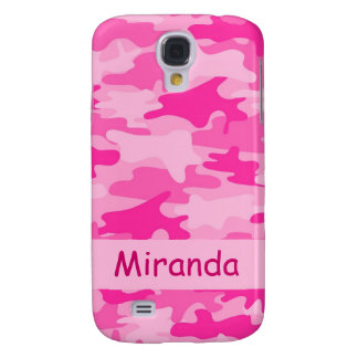 Pink Camo Camouflage Name Personalized