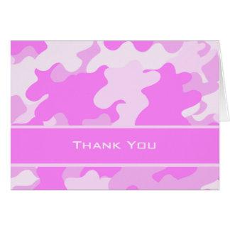 Pink Camo Card