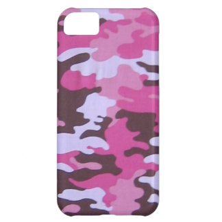 Pink Camo Cover For iPhone 5C