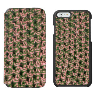Pink Camo Crochet French Green Ladies Camouflage Incipio Watson™ iPhone 6 Wallet Case